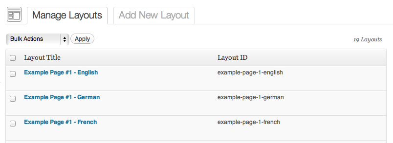Custom Layouts and Static Pages | Theme Blvd WPML Bridge